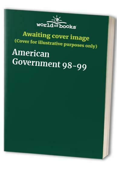 American Government 98-99 Book The Fast Free Shipping