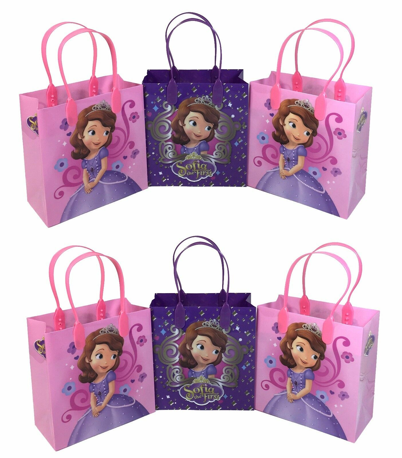 12pc Disney Princess Sofia The First Goody Bags Party