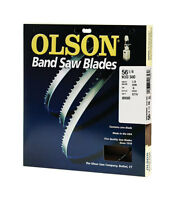Olson 56.12 In. L X 0.125 In. W Carbon Steel Band Saw Blade