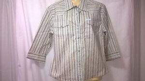 Womans-JayJays-Shirt-New-with-Tags-XL-Press-Studs-Cotton-Elastane