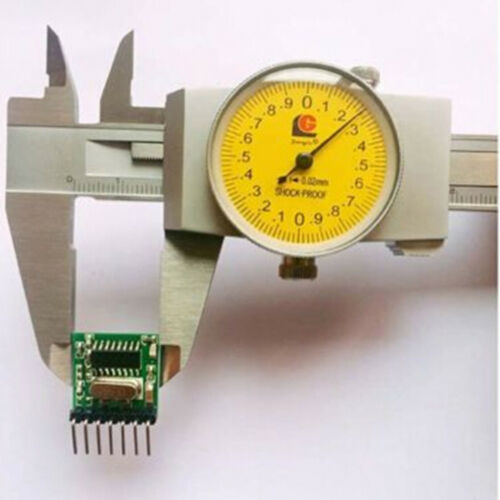 Mini Wireless 433Mhz RF Remote Control 1527 Learning Code Transmitter ModulUUMW