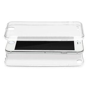 Full-TPU-Case-Handy-Huelle-360-Grad-Schutz-Huelle-Handy-Tasche-Cover-Schale-Klar