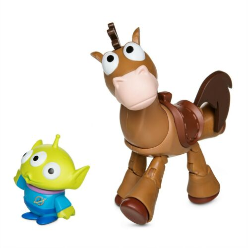 """Disney Store BULLSEYE Horse with Alien Action Figure Toy Story 4 Toybox 5/"""" NEW"""