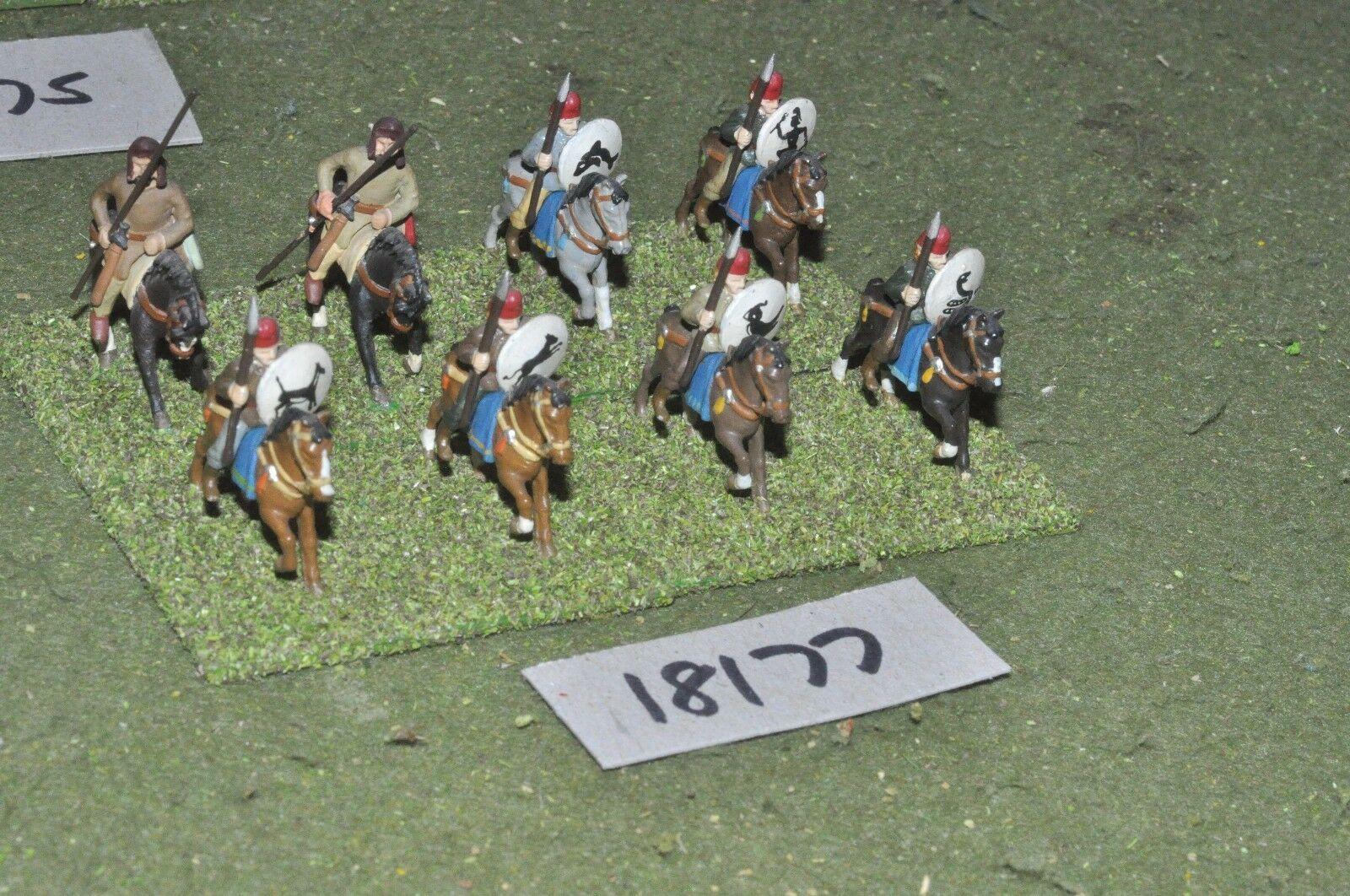 25mm classical   persian - ancient cavalry 8 cavalry - cav (18177)