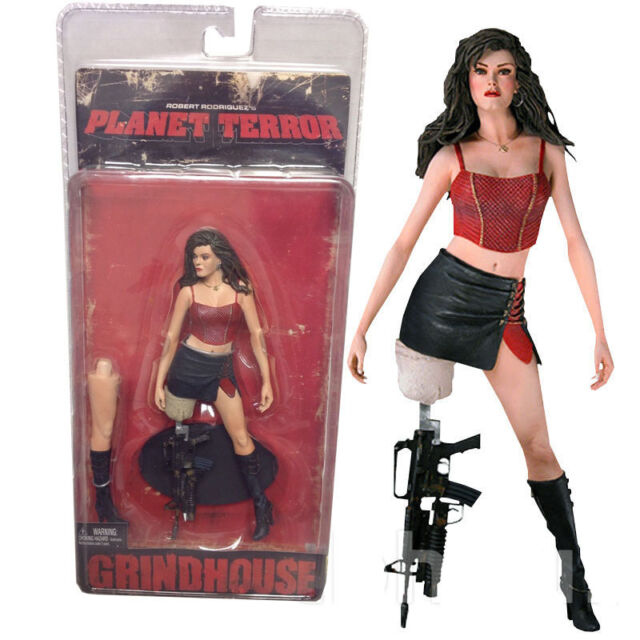 Planet Terror Grindhouse Robert Rodriguez Rose McGowan Cherry Neca Action Figure