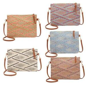 Vintage-Women-Weave-Messenger-Shoulder-Bags-Casual-Purse-Crossbody-Handbags-HOT