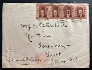 1940-Cairo-Egypt-Censored-Cover-To-Bagot-Jersey-Channel-Island-England