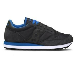 Details about SAUCONY sneaker shoes man JAZZ ORIGINAL 2044 264 dark gray and blue