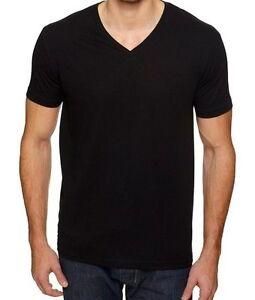 Vneck new mens v neck t shirt 100 cotton plain v neck tee for 100 cotton v neck t shirts wholesale
