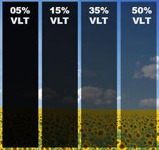 "5% VLT 25"" In x 50' Ft Feet Uncut Roll Window Tint Film Car Home Office Glass US"