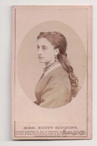 Vintage-CDV-Mary-Frances-Scott-Siddons-British-actor-and-dramatic-reader-Gurney