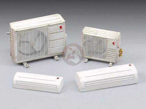 Royal Model 1//35 Split System Air Conditioner Units 2 sizes, total 2 pcs 751