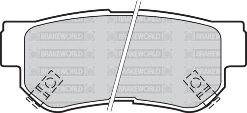 OEM SPEC REAR DISCS AND PADS 284mm FOR HYUNDAI TUCSON 2.0 TD 4WD 2004-07