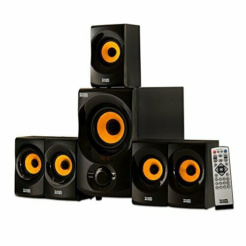Acoustic Audio Home Theater - 5.1 Bluetooth Speaker System 700w W/ Powered Sub Brede VariëTeiten