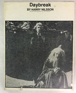 Adroit Vintage Sheet Music - Daybreak By Harry Nilsson - 1974 - 5 Pages Ventes Bon Marché