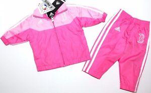 Adidas~Jogginganzug~USA~92 98~Jacke +Hose~Freizeitanzug~rosa