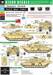Bison-Decals-1-35-Gulf-War-1991-2-Challenger-1-and-M109-35149