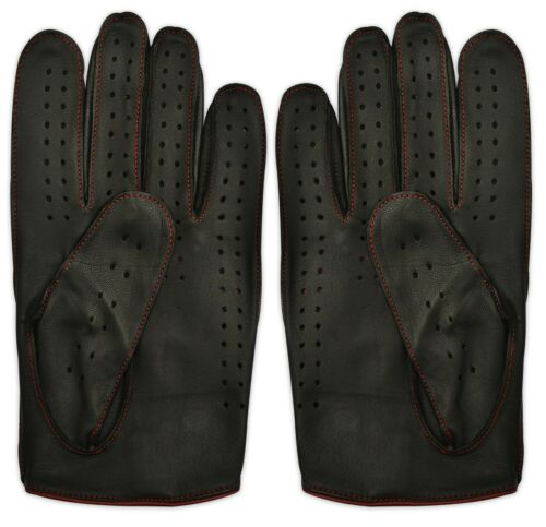 Hommes/'s Retro Robe Voiture Bus Driving Fashion Chauffeur Gants 100/% cuir véritable