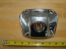 FOR HARLEY FX 71-84, FXR 82-UP, 1959 & UP XL SPORTSTER CHROME HEADLIGHT VISOR