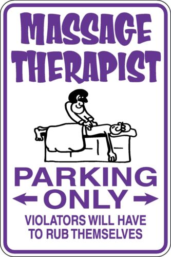 Massage Therapist Parking Only Funny Novelty Stickers JDM Euro Sma SM1-353