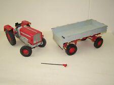DDR  Spielzeug Auto Traktor mit Anhänger  Anker ZT 300 Pico