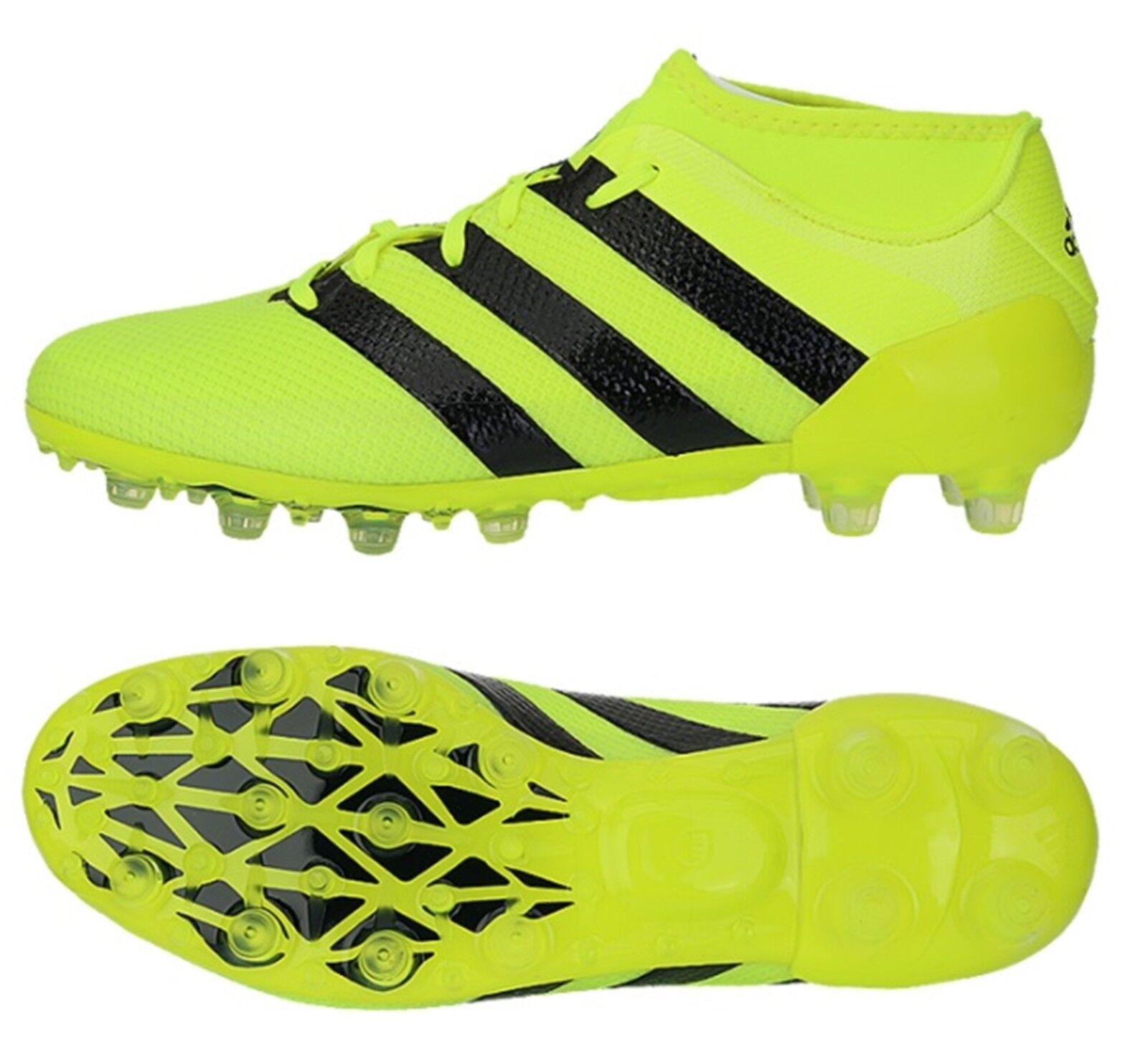 Adidas Men ACE 16.2 HG Primemesh Cleats Volt Soccer Football schuhe Spike BB4034