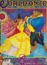 Walt Disney's World on Ice Beauty & the Beast Program 1993