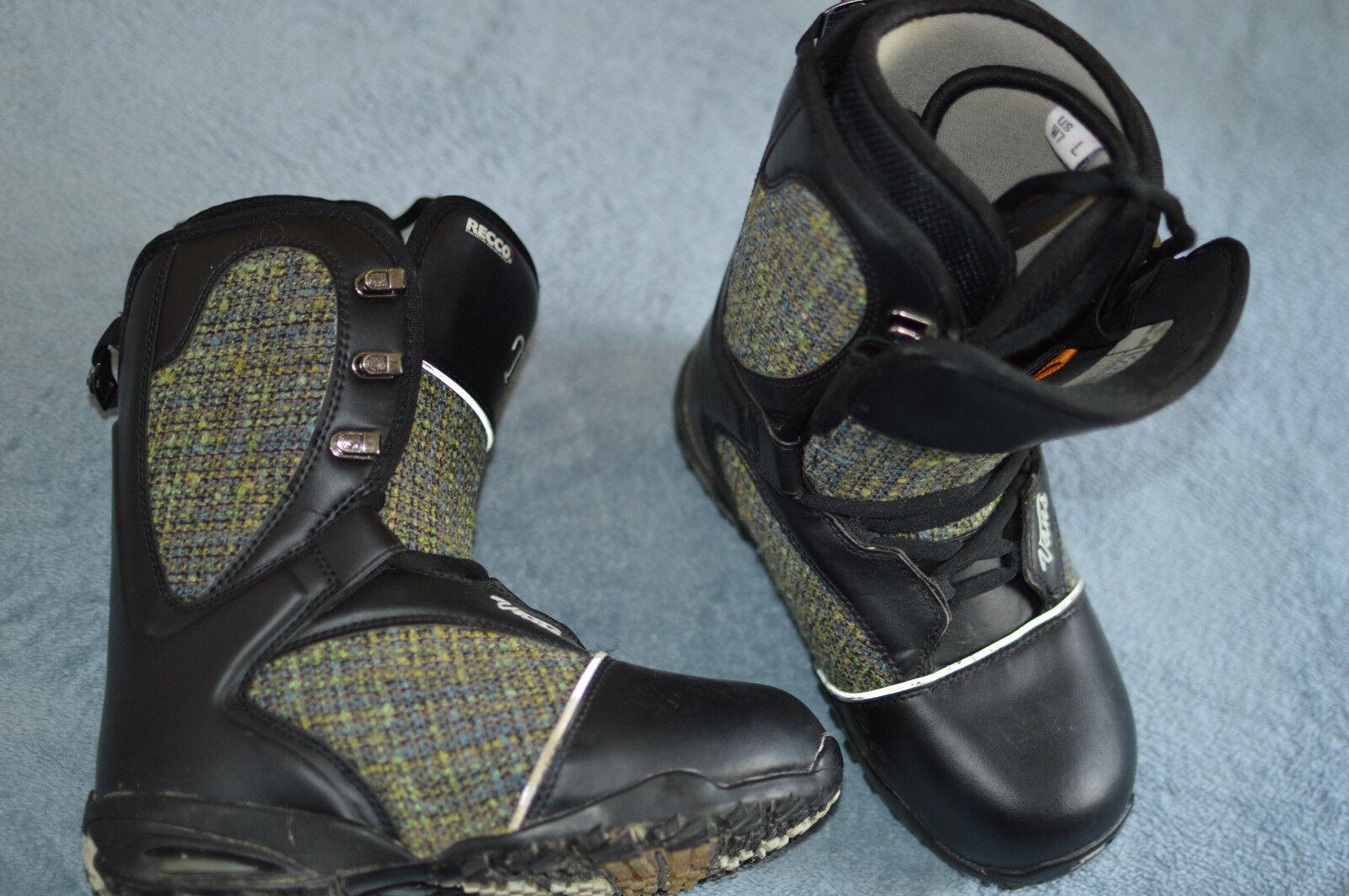 Vans Tara Dakides T3 3 Snowboard Boots Women Size 7