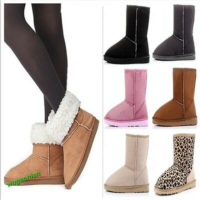 Fashion Women Lady Winter Warm Snow Boots Cute Ankle Shoes 6 Colors 5 Sizes Hot