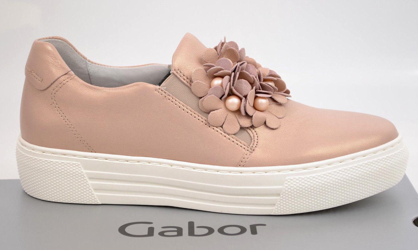 Gabor comfort Sneaker Damenschuhe Slipper Schuhe  rose Perlen NEU FS18  Schuhe 86.462.53 d00fb2