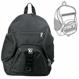 WAVE-SCHOOL-BACKPACK-TRAVEL-BAGS-MULTI-PURPOSE-ALSO-GREAT-FOR-HIKING-BLACK