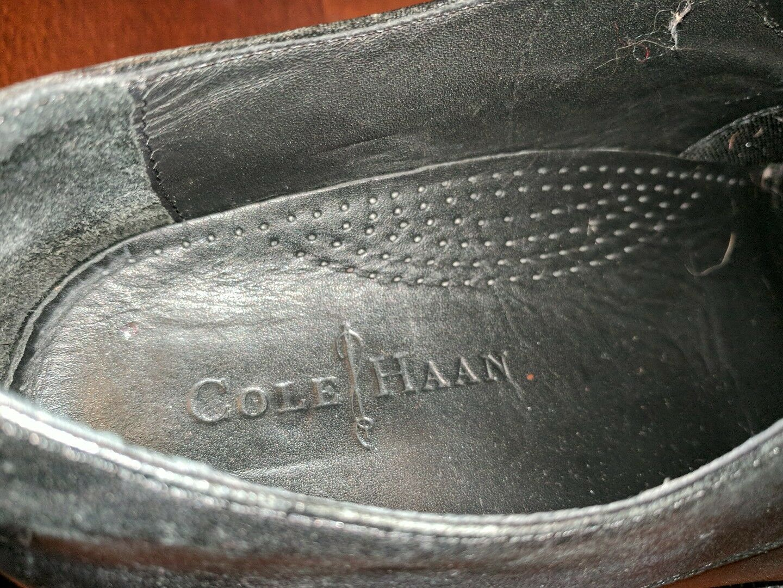 COLE HAAN SOFT LEATHER BLACK MENS OXFORDS 10 SHOES 10 OXFORDS M DRESS OXFORD 2a6384