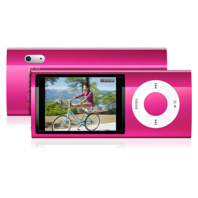 apple ipod nano 5th generation pink 8gb ebay. Black Bedroom Furniture Sets. Home Design Ideas