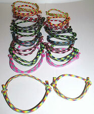 Adjustable-Miansai Style Paracord Bracelet/Anklet Multicolored Wholesale Lot