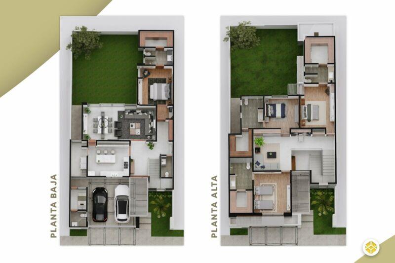 Casa en Preventa en Colina D Santiago, Torreón, Coahuila 4 Recámaras