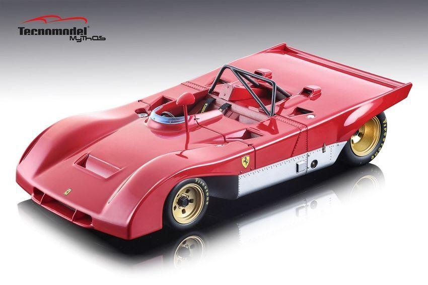 servicio honesto Ferrari 312 Pb 1971 Press Press Press Version 1:18 Model TECNOMODEL  moda clasica