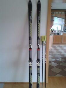 Trendmarkierung Völkl Alpinski P9 Mit Salomon Bindung 747 Und Blizzard Stöcken Skisport & Snowboarding