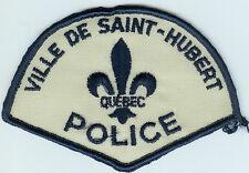 VILLE DE SAINT-HUBERT QUEBEC CANADA POLICE PATCH