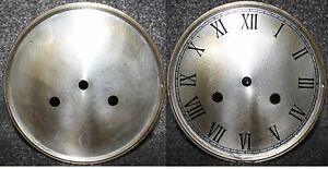"""Vintage 5/"""" clock face//dial Elegant Arabic numeral number renovation wet transfer"""