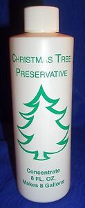 Christmas Tree Preservative Concentrate, 8 fl oz, Makes 8 ...