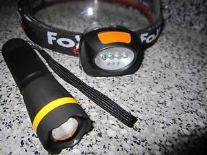 Focus Taschenlampe 130m Cree Stirnlampe Zoom Kopflampe 170m Leuchtweite
