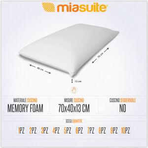 Misure Standard Cuscini.Cuscino Cuscini Memory Foam Saponetta Ebay