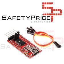 FT232RL FTDI USB zu TTL Konverter Serie 3,3-5V Arduino Pro Mini  + Kabel