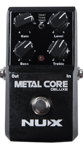 NUX Metal Core Deluxe Distortion   Noise Gate