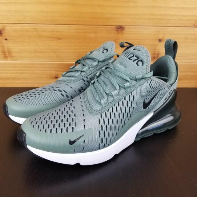 b6cd2d7802 Nike Air Max 270 Clay Green/Black-Deep Jungle Men's Shoes Size 9 AH8050