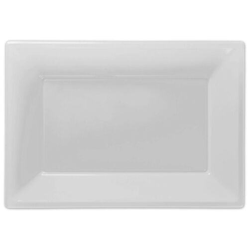 Plastic Serving Platter Plates Trays Wedding Buffet Party Tray Events PLATTERS