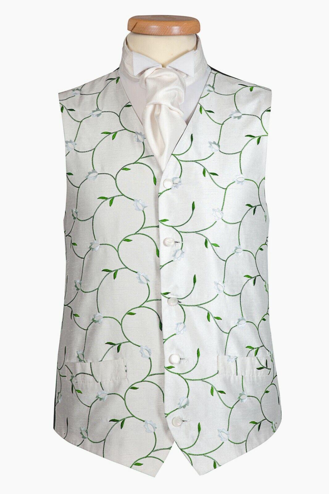 Green Leaf Debonair Waistcoat UK (A16)
