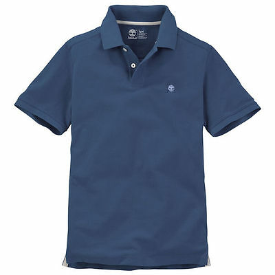 TIMBERLAND MILLERS RIVER POLO SHIRT UK MENS S - XL, CHOICE OF 3 COLOURS