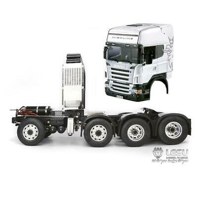 Für 1:14 LESU Tamiya Scania RC Tractor Truck DIY Auto Model Metall Drive Shaft