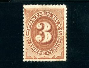 USAstamps-Unused-FVF-US-1879-Postage-Due-Scott-J3-OG-MNH